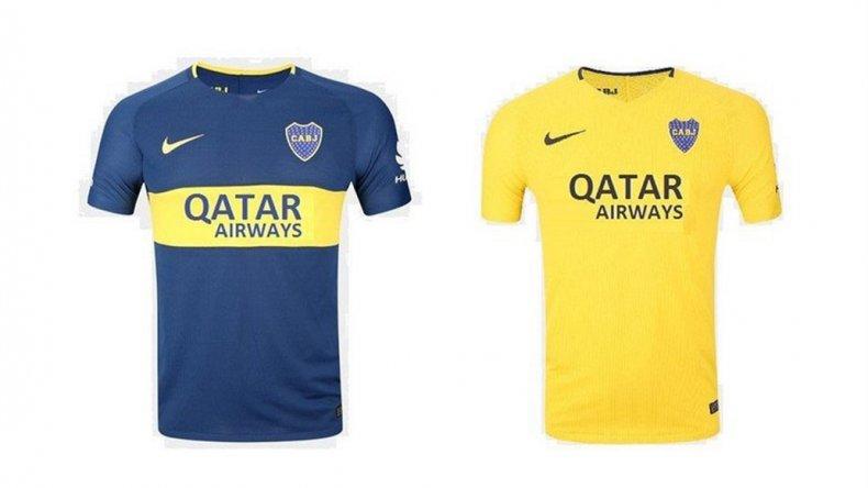 boca juniors lucir225 los logos de qatar airways y axion